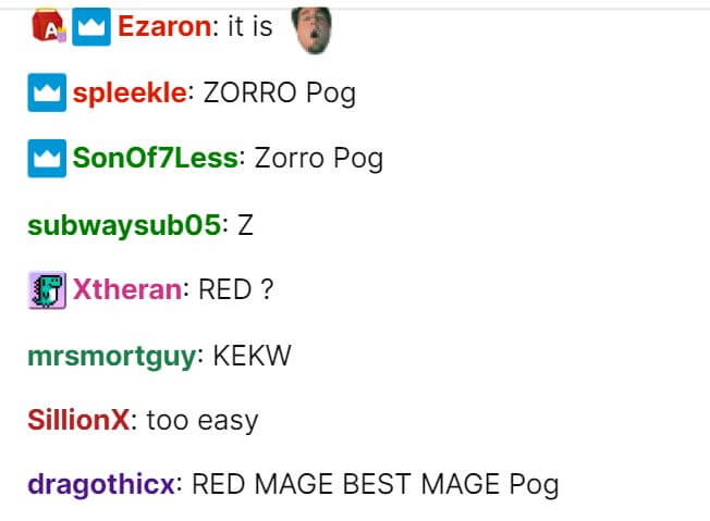 chat emotes can't be seen in the chatroom