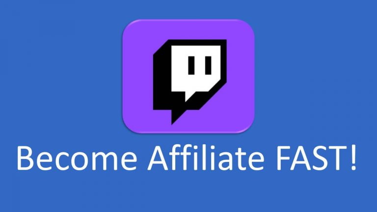 The Secret of Becoming a Twitch Affiliate Fast